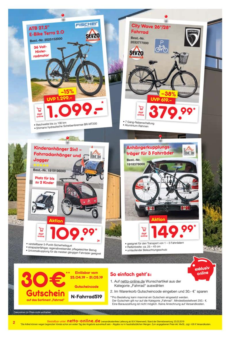 Netto Marken-Discount Prospekt vom 01.05.2019, Seite 1
