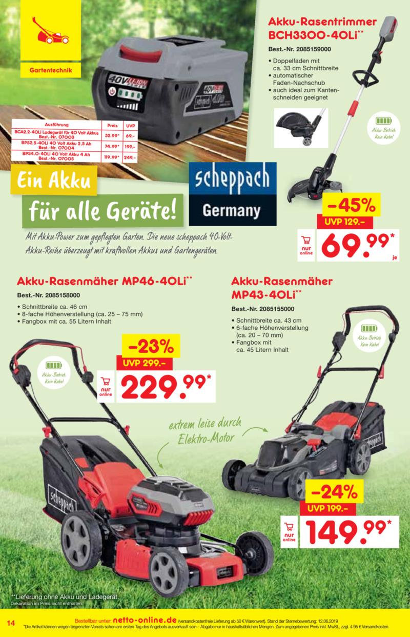 Netto Marken-Discount Prospekt vom 01.07.2019, Seite 13