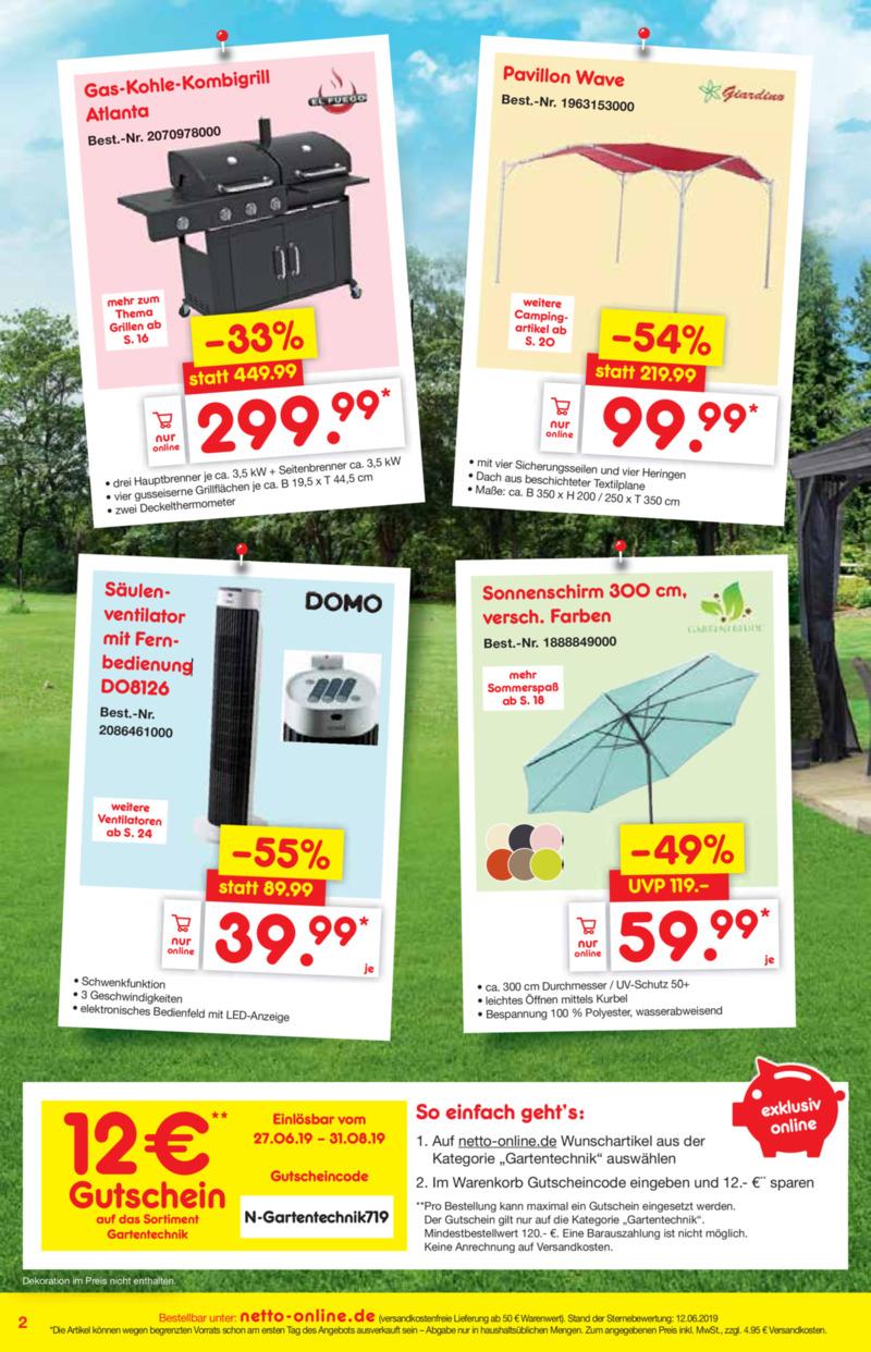 Netto Marken-Discount Prospekt vom 01.07.2019, Seite 1