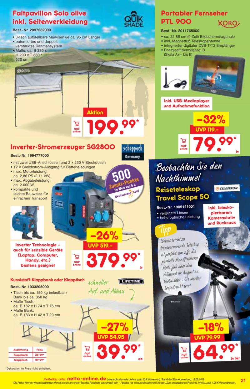 Netto Marken-Discount Prospekt vom 01.07.2019, Seite 20
