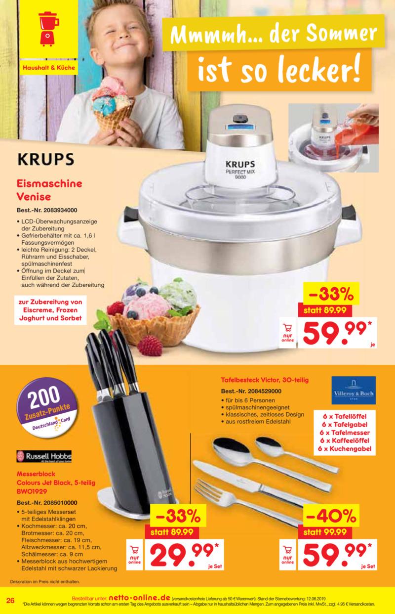 Netto Marken-Discount Prospekt vom 01.07.2019, Seite 25