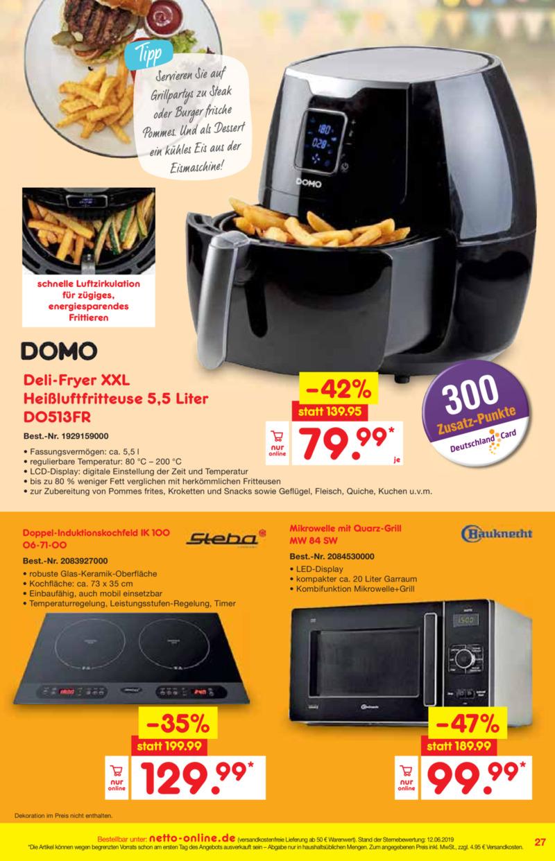Netto Marken-Discount Prospekt vom 01.07.2019, Seite 26