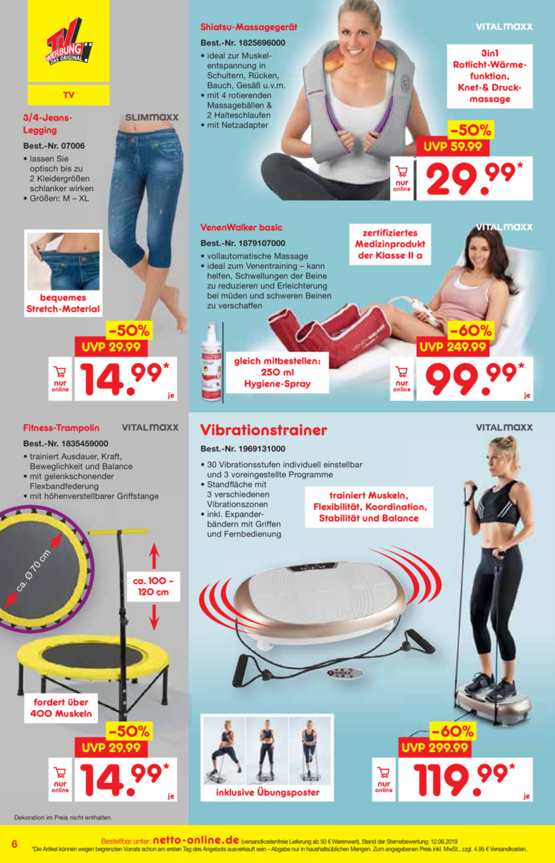 Netto Marken-Discount Prospekt vom 01.07.2019, Seite 5