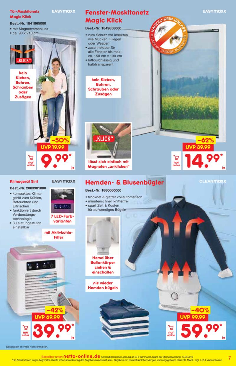 Netto Marken-Discount Prospekt vom 01.07.2019, Seite 6
