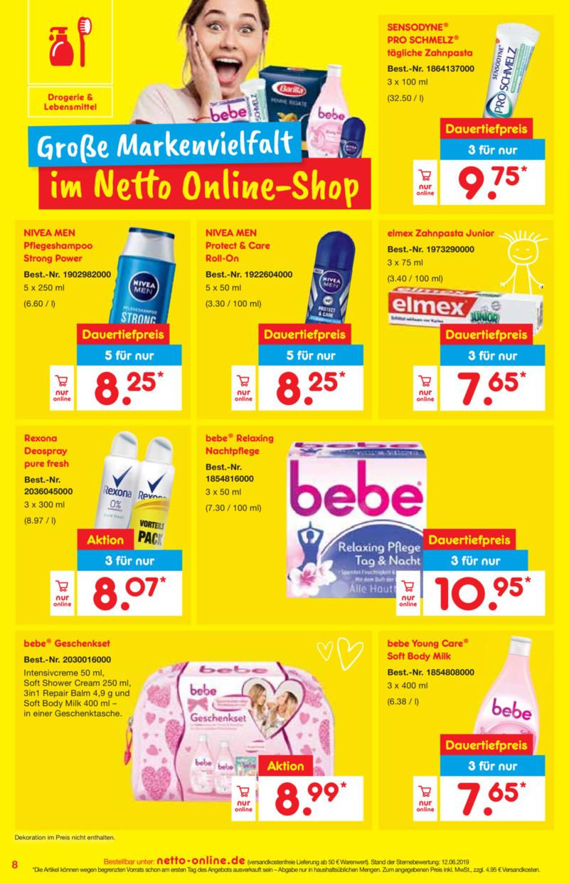 Netto Marken-Discount Prospekt vom 01.07.2019, Seite 7