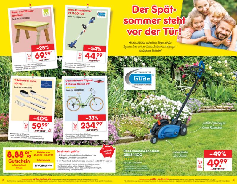 Netto Marken-Discount Prospekt vom 02.09.2019, Seite 1
