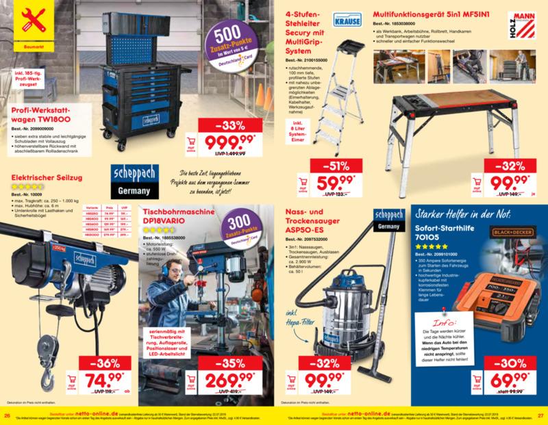 Netto Marken-Discount Prospekt vom 01.10.2019, Seite 13