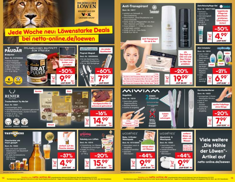 Netto Marken-Discount Prospekt vom 01.10.2019, Seite 7