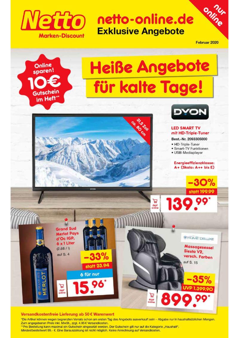 Netto Marken-Discount Prospekt vom 01.02.2020, Seite