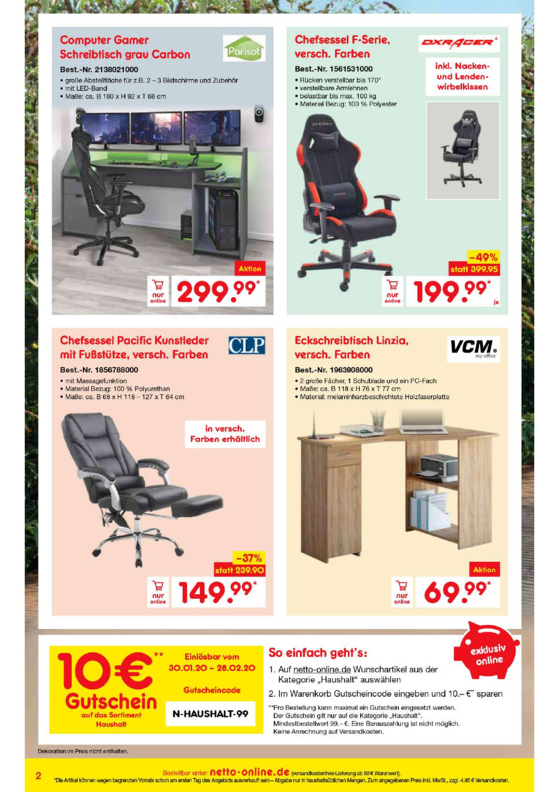 Netto Marken-Discount Prospekt vom 01.02.2020, Seite 1