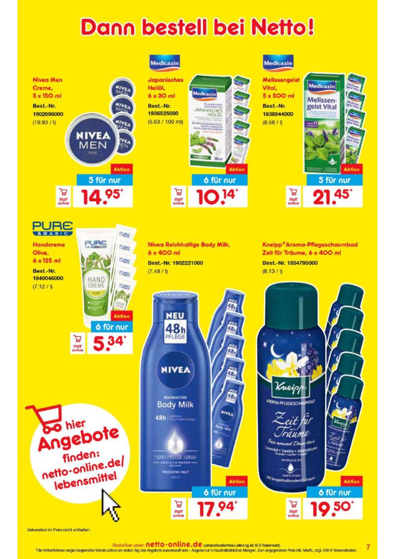 Netto Marken-Discount Prospekt vom 01.02.2020, Seite 6