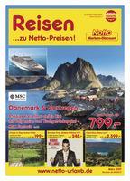 Netto-Reisen Prospekt vom 01.03.2017