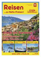 Netto-Reisen Prospekt vom 02.05.2017