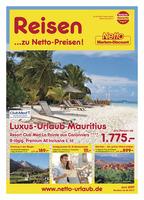 Netto-Reisen Prospekt vom 01.06.2017