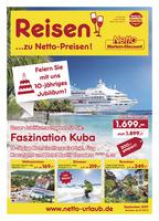 Netto-Reisen Prospekt vom 01.09.2017