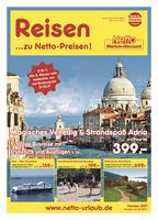 Netto-Reisen Prospekt vom 02.10.2017