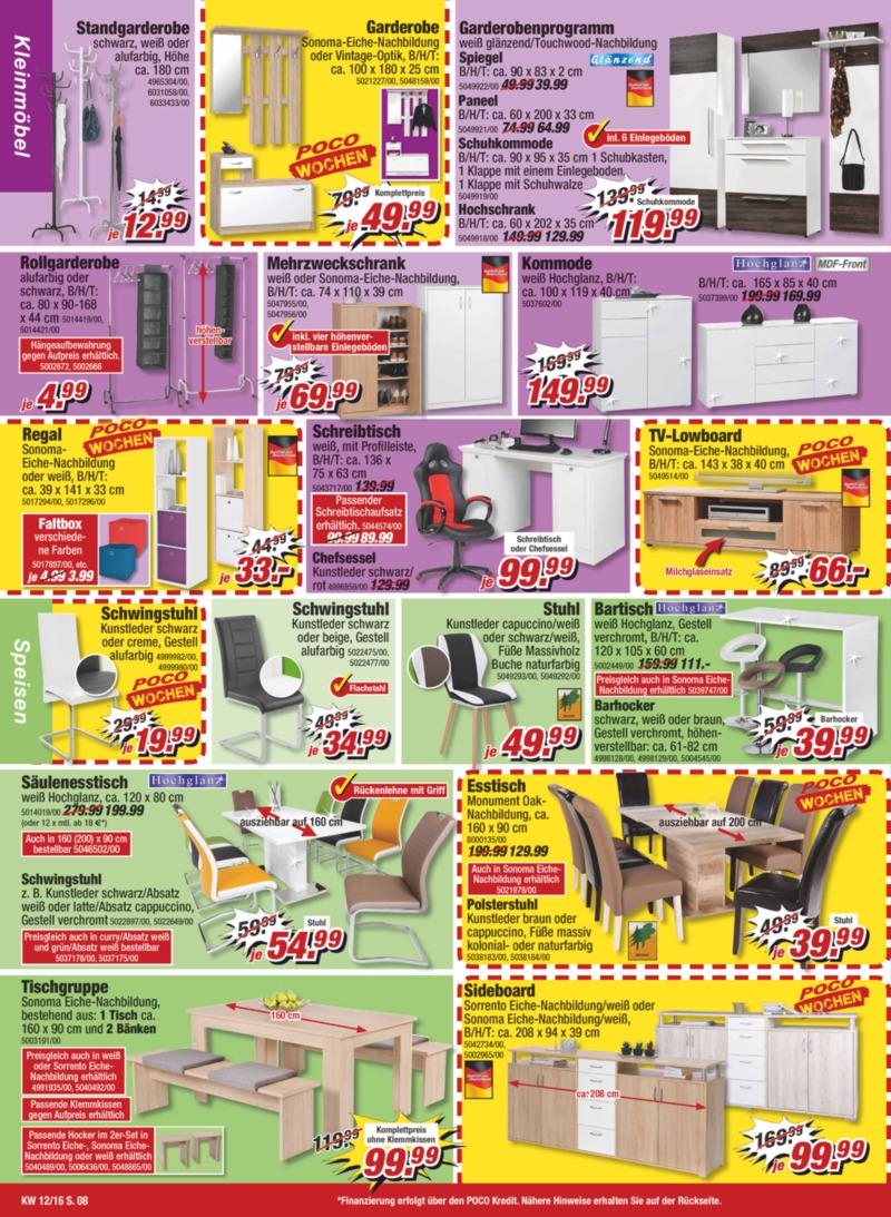poco einrichtungsmarkt prospekt vom bis. Black Bedroom Furniture Sets. Home Design Ideas