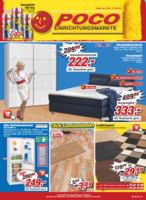 POCO Einrichtungsmarkt Prospekt vom 27.08.2016