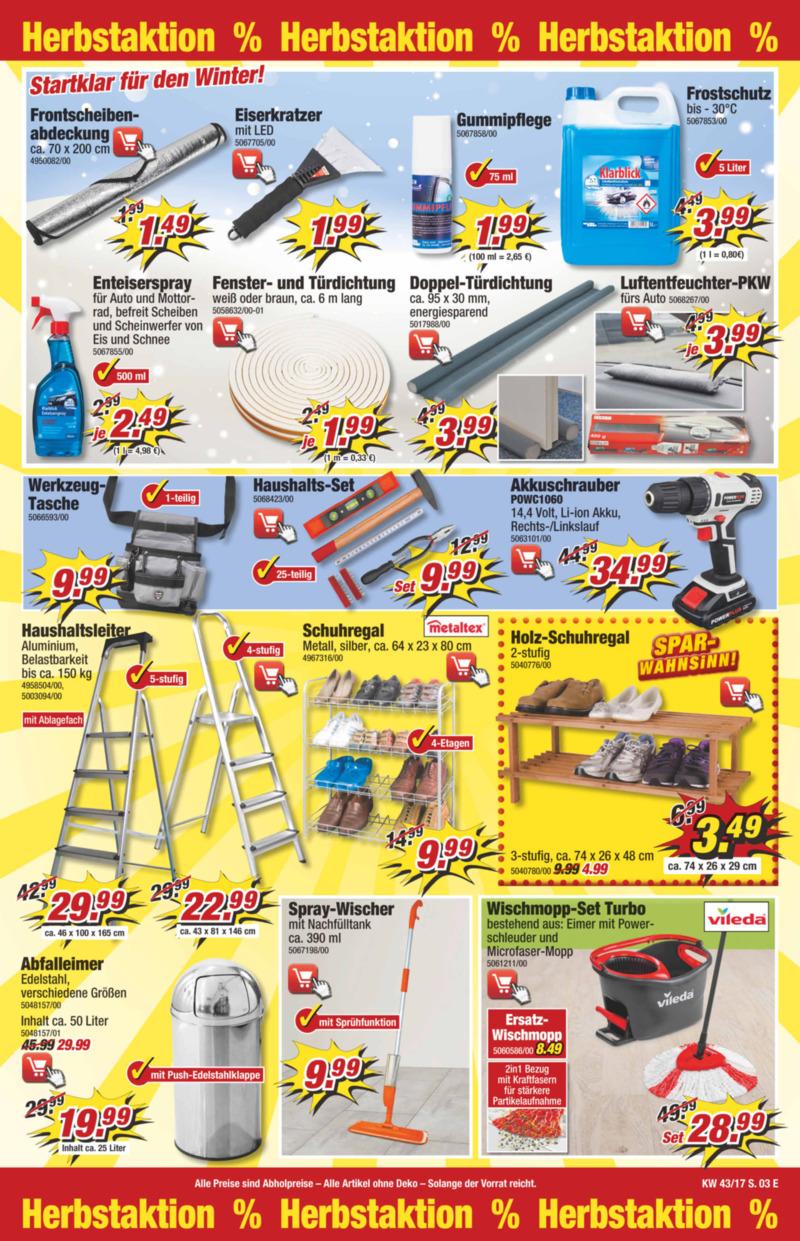 POCO Einrichtungsmarkt Prospekt vom 21.10.2017, Seite 26