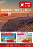 REWE Reisen Prospekt vom 01.09.2016