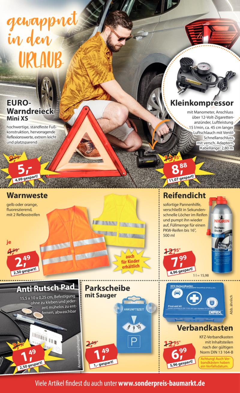 Sonderpreis Baumarkt Prospekt vom 23.04.2019, Seite 1