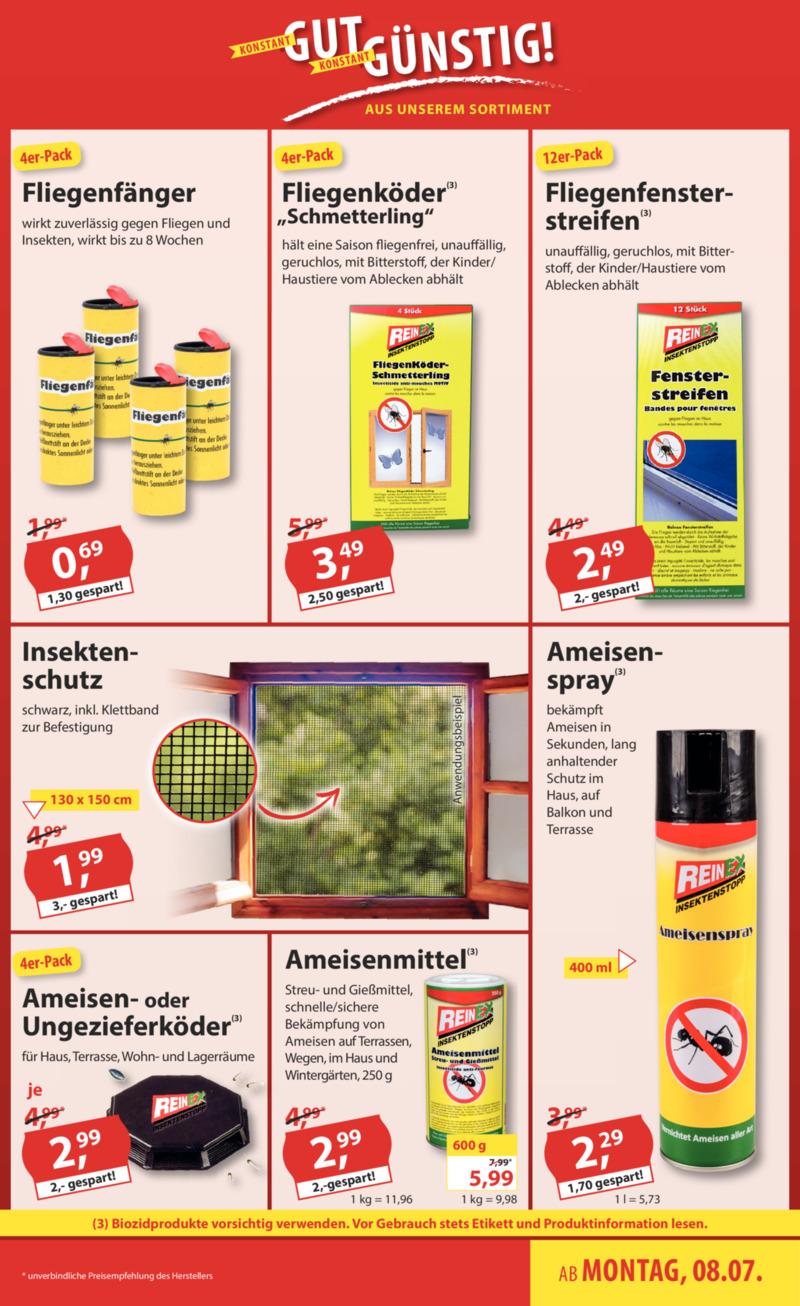 Sonderpreis Baumarkt Prospekt vom 08.07.2019, Seite 14