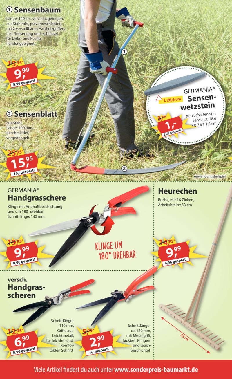 Sonderpreis Baumarkt Prospekt vom 08.07.2019, Seite 3