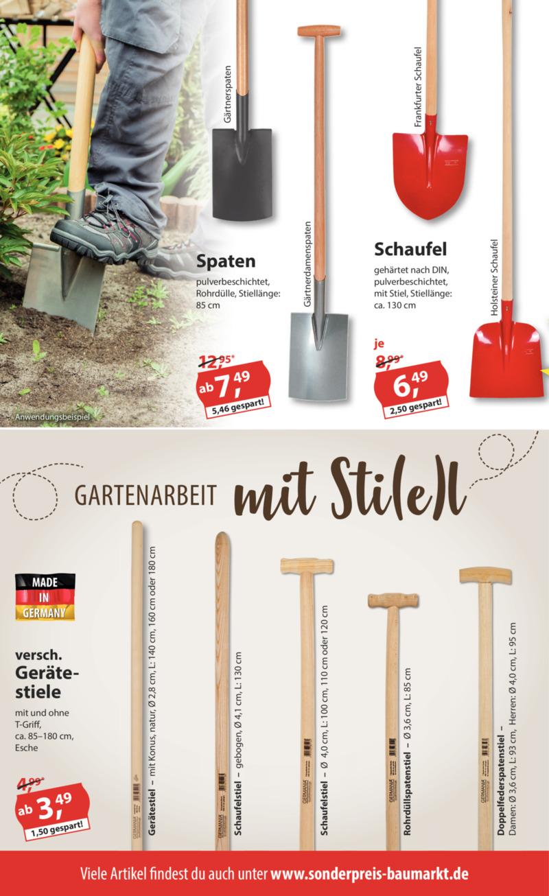 Sonderpreis Baumarkt Prospekt vom 08.07.2019, Seite 5