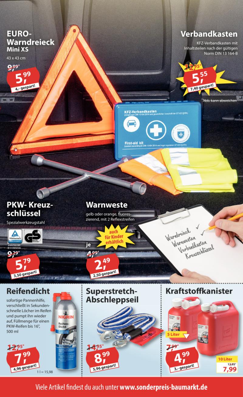 Sonderpreis Baumarkt Prospekt vom 15.07.2019, Seite 3