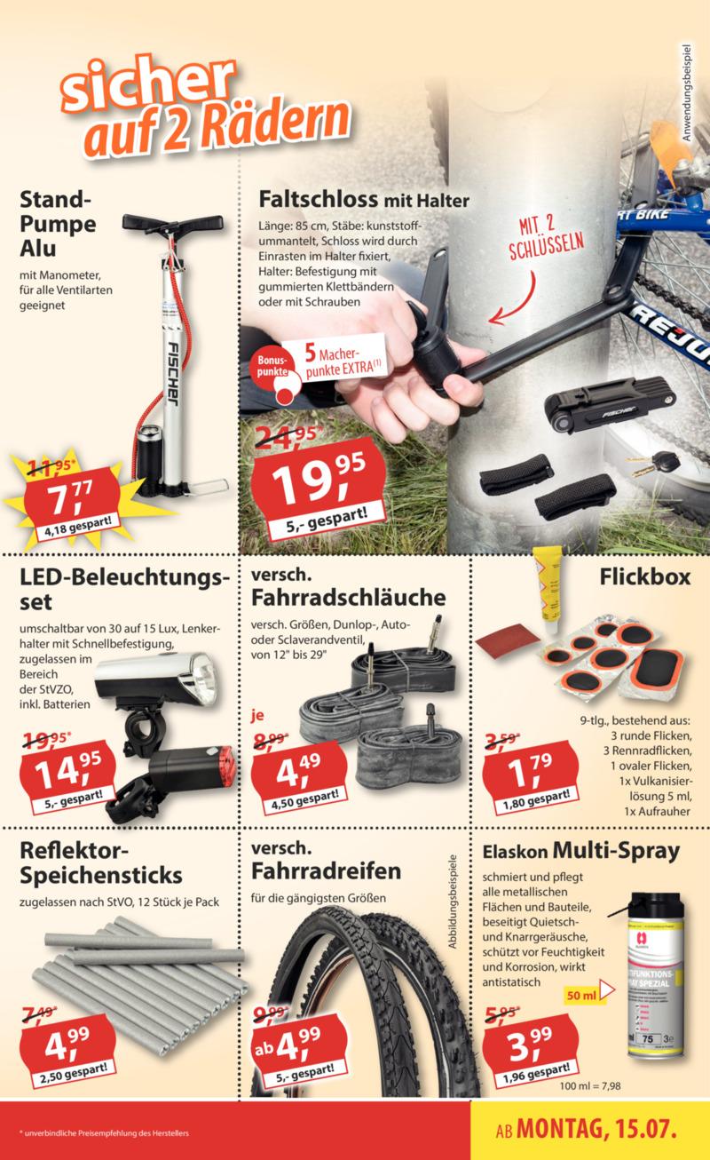 Sonderpreis Baumarkt Prospekt vom 15.07.2019, Seite 6