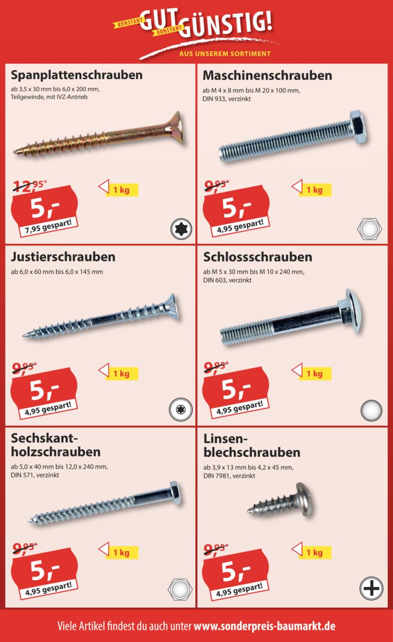 Sonderpreis Baumarkt Prospekt vom 16.09.2019, Seite 15
