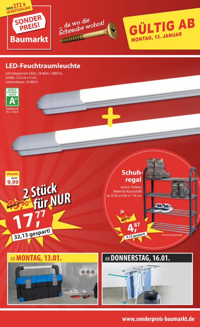 Sonderpreis Baumarkt Prospekt vom 13.01.2020, Seite