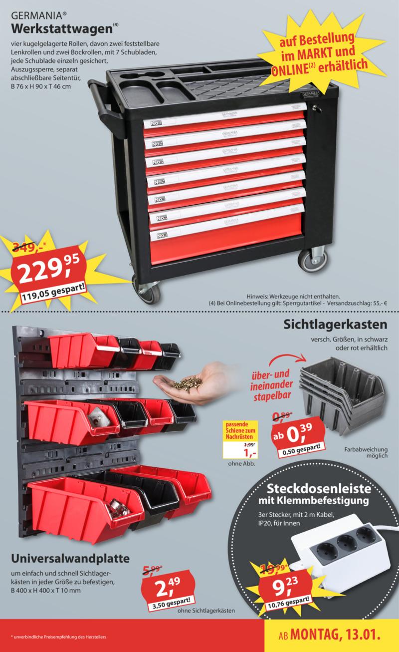 Sonderpreis Baumarkt Prospekt vom 13.01.2020, Seite 4