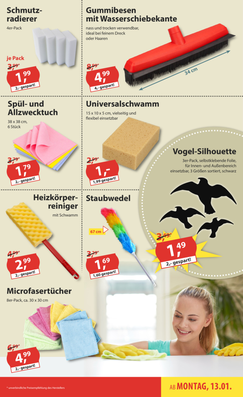 Sonderpreis Baumarkt Prospekt vom 13.01.2020, Seite 8