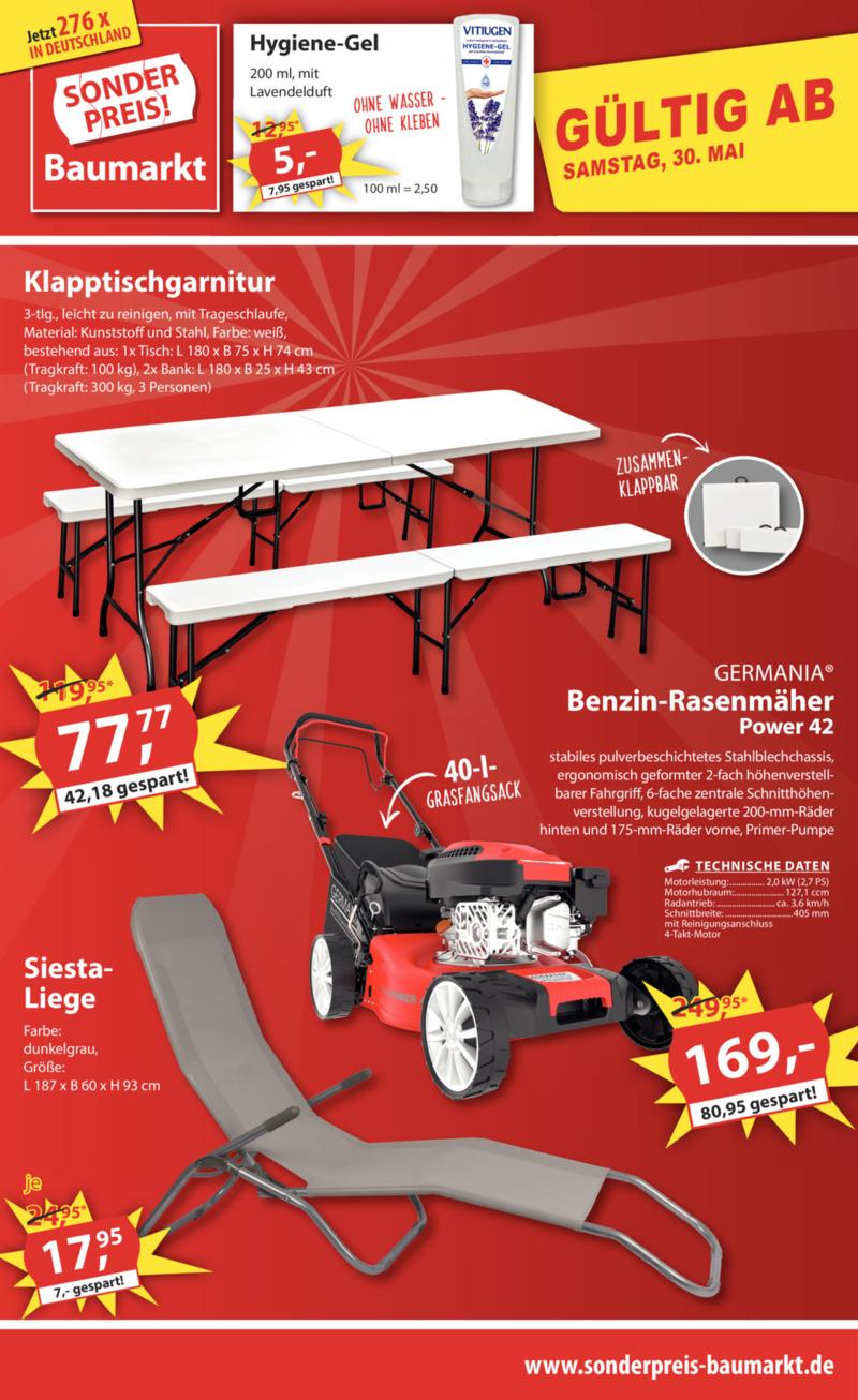 Sonderpreis Baumarkt Prospekt vom 02.06.2020, Seite