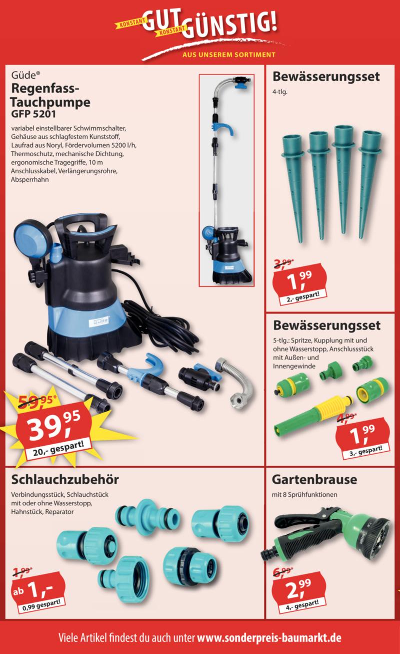 Sonderpreis Baumarkt Prospekt vom 02.06.2020, Seite 11
