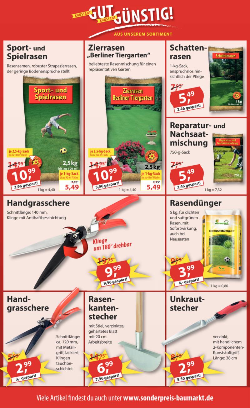Sonderpreis Baumarkt Prospekt vom 02.06.2020, Seite 13