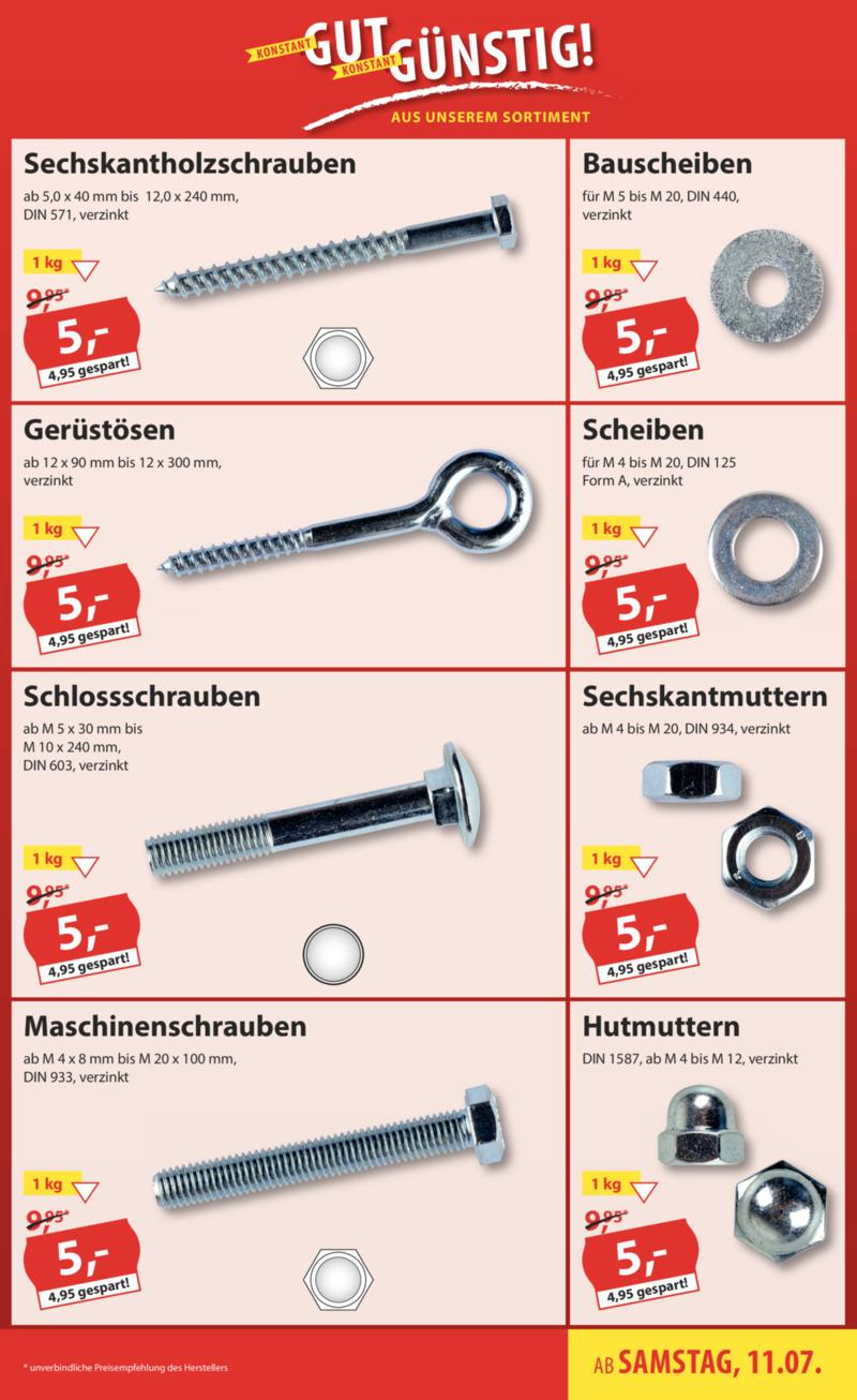 Sonderpreis Baumarkt Prospekt vom 11.07.2020, Seite 18