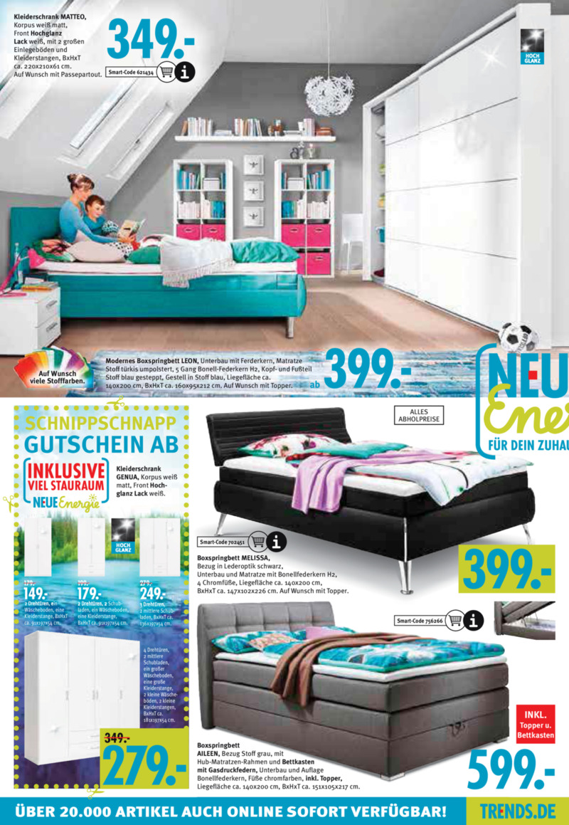 trends prospekt vom bis bl ttern. Black Bedroom Furniture Sets. Home Design Ideas