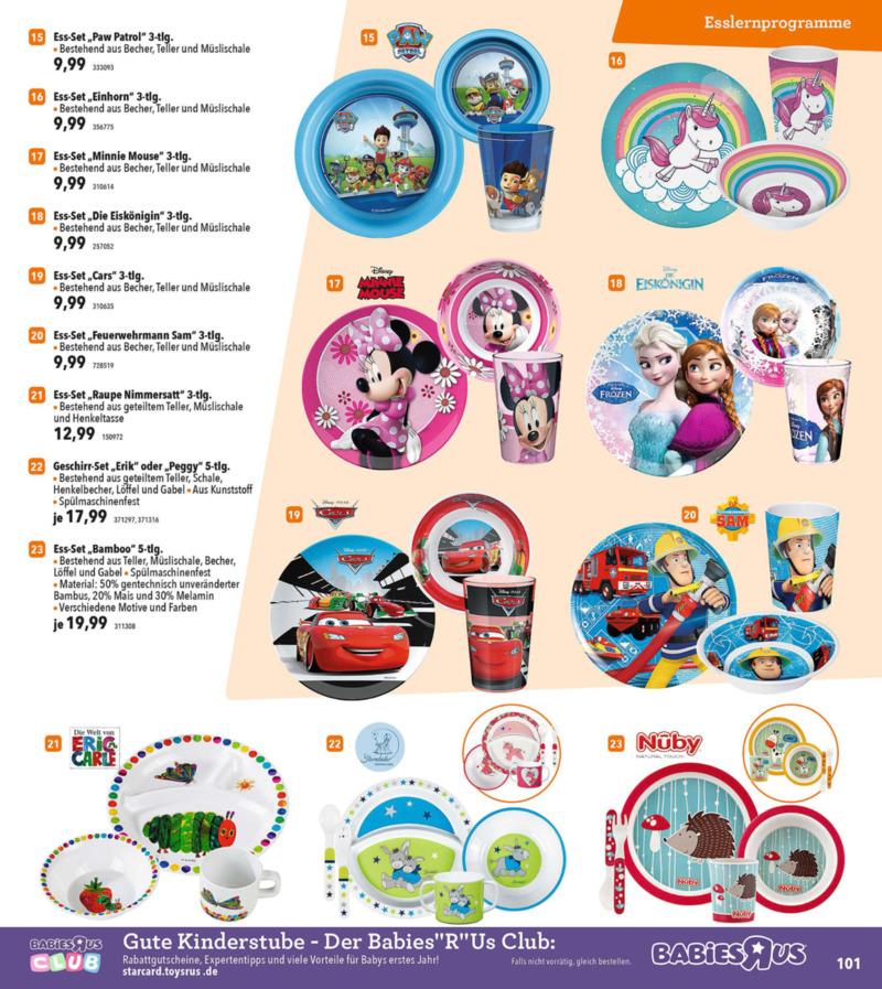 Toys'R'Us Prospekt vom 19.03.2018, Seite 100