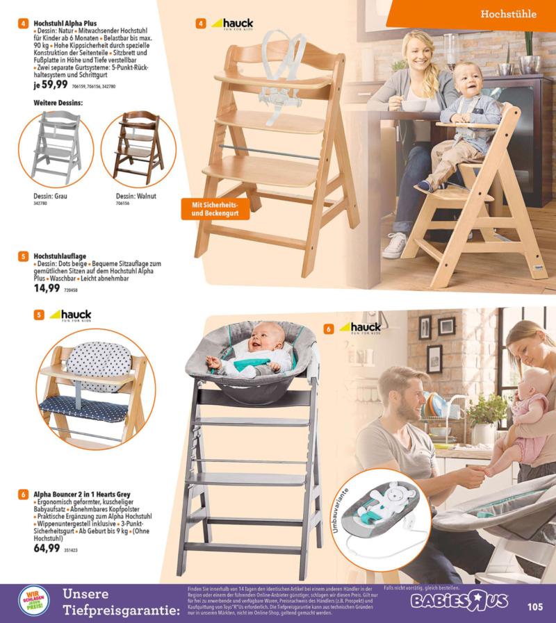Toys'R'Us Prospekt vom 19.03.2018, Seite 104