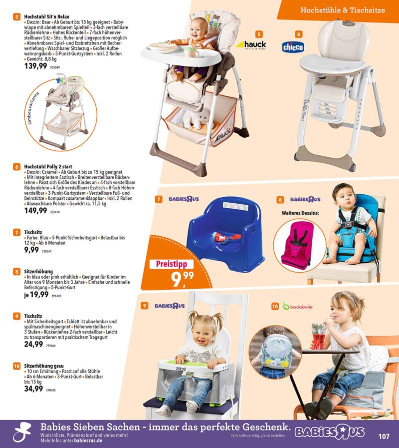 Toys'R'Us Prospekt vom 19.03.2018, Seite 106