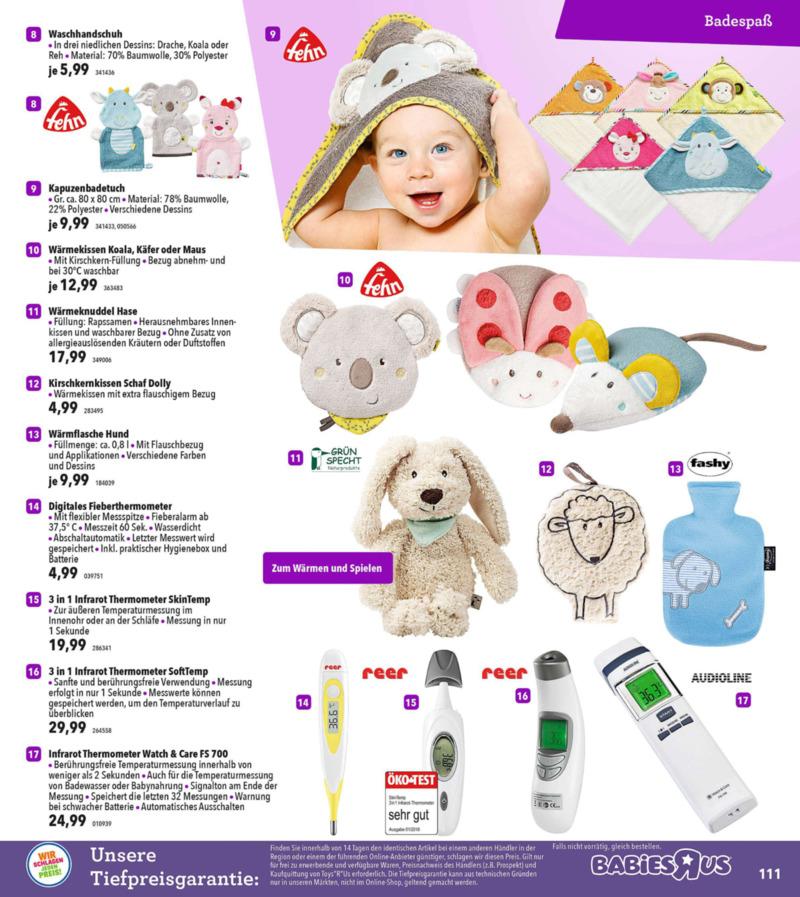 Toys'R'Us Prospekt vom 19.03.2018, Seite 110