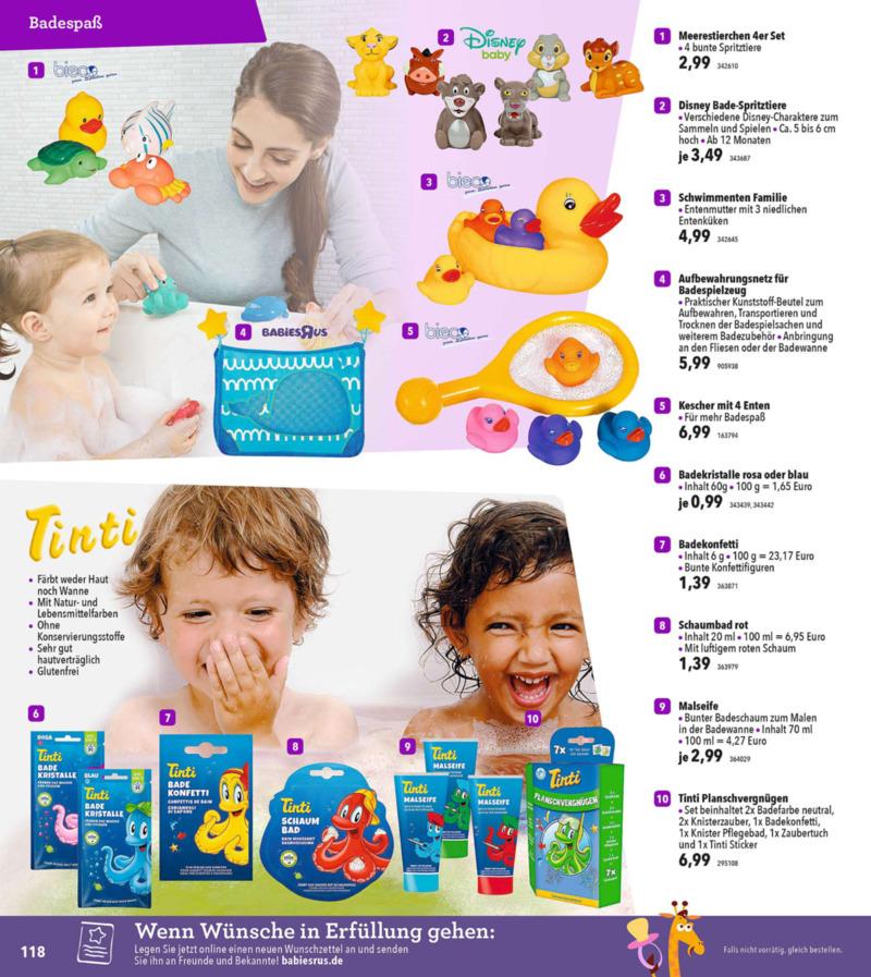 Toys'R'Us Prospekt vom 19.03.2018, Seite 117