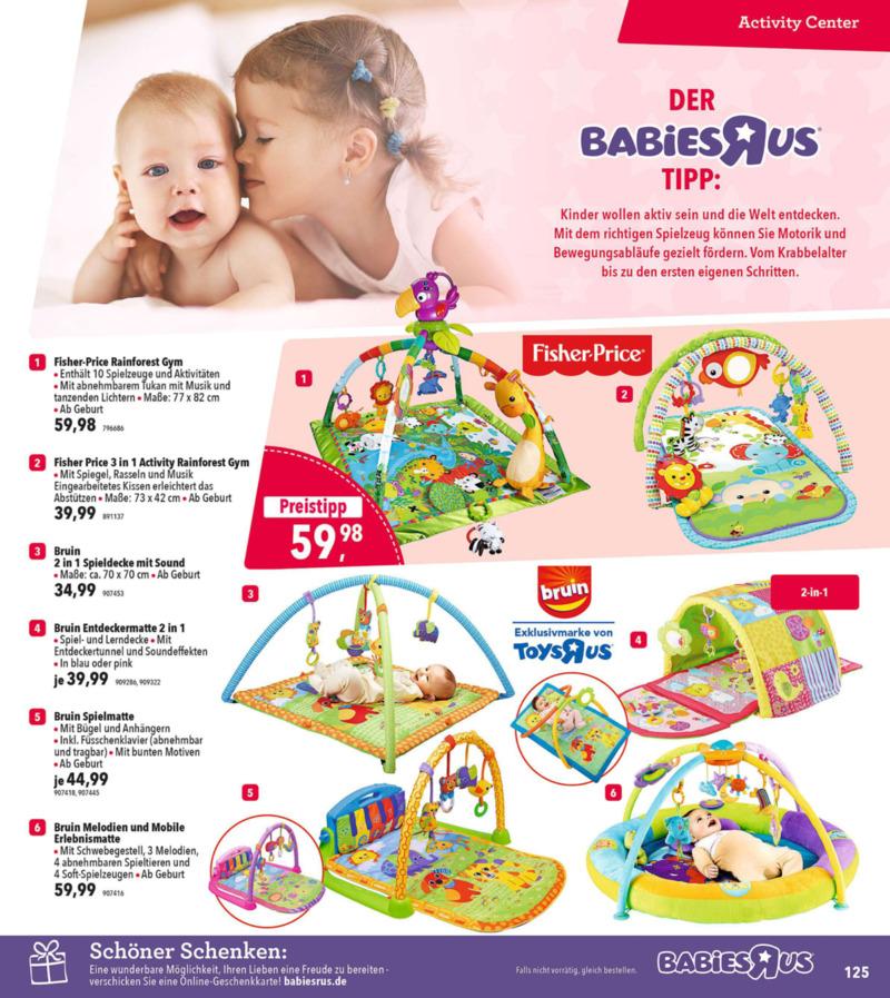 Toys'R'Us Prospekt vom 19.03.2018, Seite 124