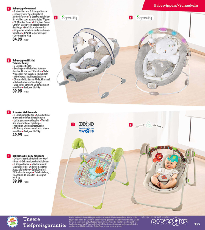 Toys'R'Us Prospekt vom 19.03.2018, Seite 128