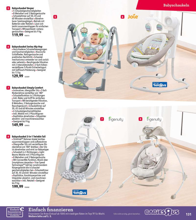 Toys'R'Us Prospekt vom 19.03.2018, Seite 130