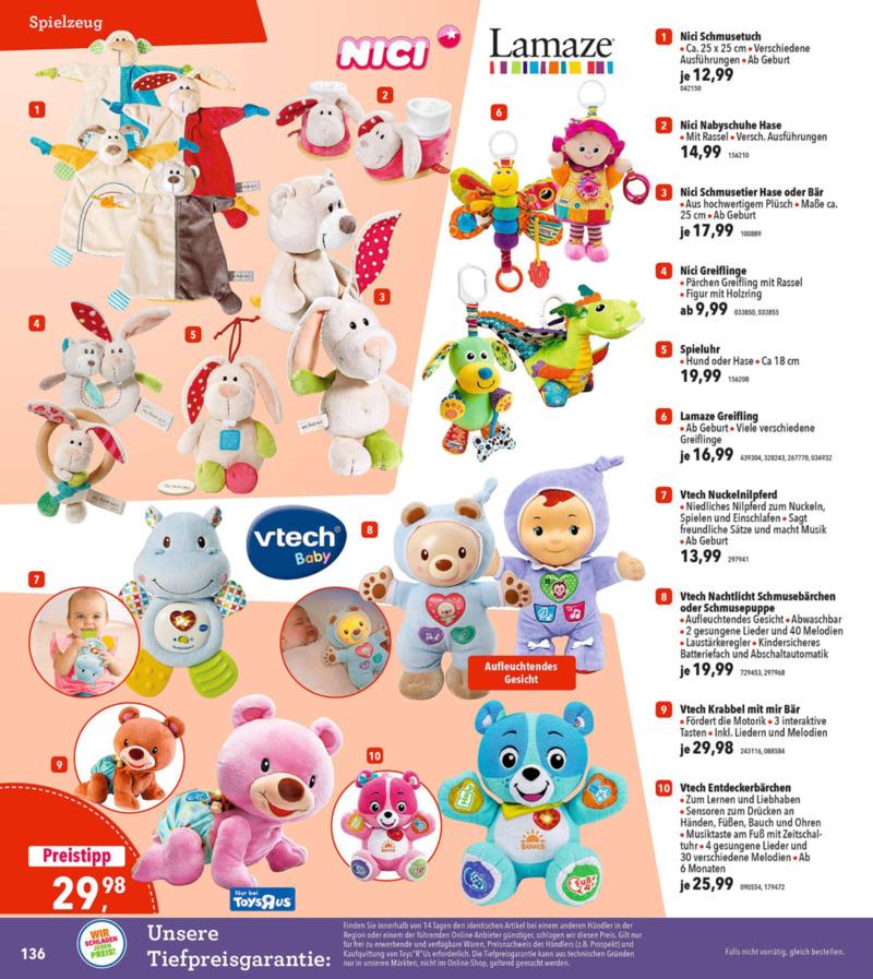 Toys'R'Us Prospekt vom 19.03.2018, Seite 135