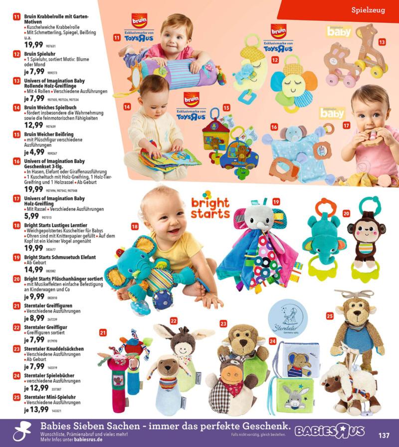 Toys'R'Us Prospekt vom 19.03.2018, Seite 136
