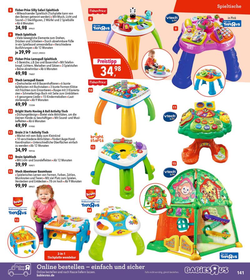 Toys'R'Us Prospekt vom 19.03.2018, Seite 140